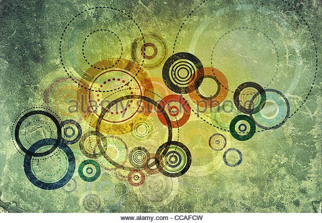 abstrakt Kreis Textur Stockbild