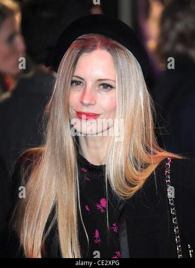 """Laura Bailey UK Film-Premiere von """"Paul"""" statt im Reich am Leicester Square - London eingetroffen. England Stockbild"""