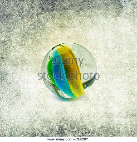 Glas Marmor Stockbild