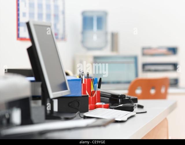 Office-Hintergrund Stockbild