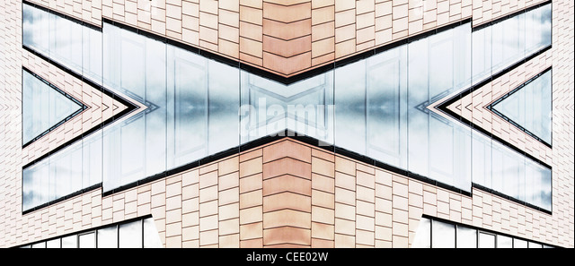 Architektur-abstrakt Stockbild