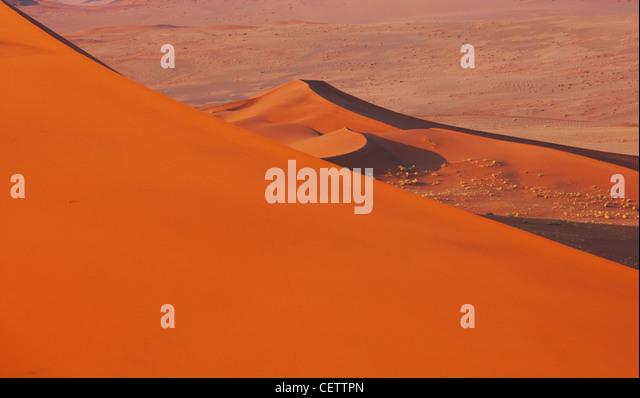 Sanddünen in Merzuga, Marokko Stockbild