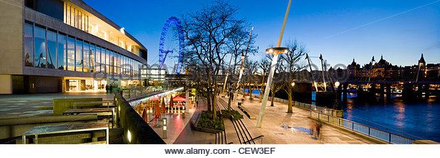 Royal Festival Hall auf der South Bank, London Stockbild