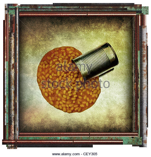 Bohnen-Bild Stockbild