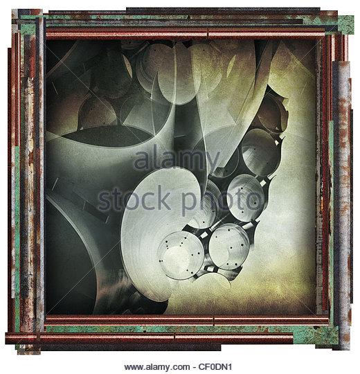 moderne abstrakte Bild Stockbild