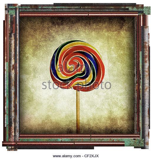 Lollipop-Bild Stockbild