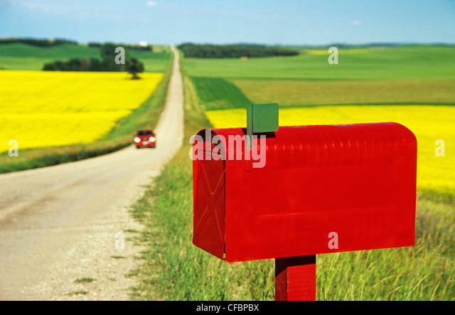 country mailbox stockfotos country mailbox bilder alamy. Black Bedroom Furniture Sets. Home Design Ideas