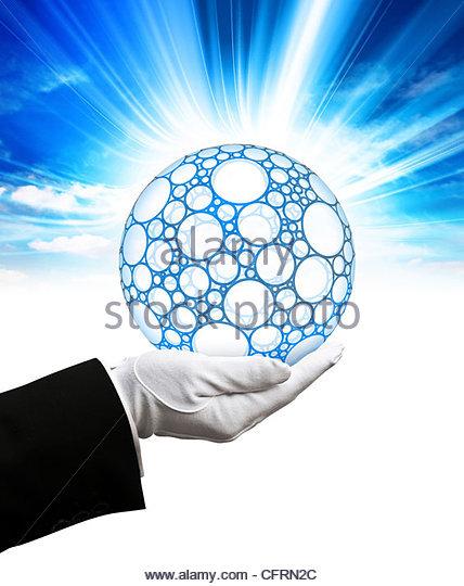 Internet-provider Stockbild