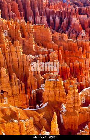 Felsformationen, Bryce-Canyon-Nationalpark, Utah, USA Stockbild