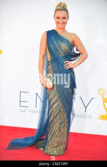 auf arrivals64th Primetime Emmy Awards - Ankünfte Nokia Theatre L.A. LIVE Los Angeles CA 23. September 2012 Stockbild