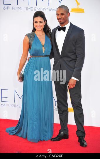 auf arrivals64th Primetime Emmy Awards - Ankünfte Teil 2 Nokia Theatre L.A. LIVE Los Angeles CA 23. September Stockbild