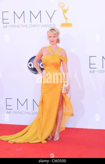Kelli Garner arrivals64th Primetime Emmy Awards - Ankünfte Nokia Theatre L.A. LIVE Los Angeles CA 23. September Stockbild