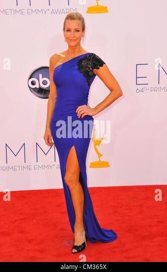 Laura Spencer arrivals64th Primetime Emmy Awards - Ankünfte Nokia Theatre L.A. LIVE Los Angeles CA 23. September Stockbild