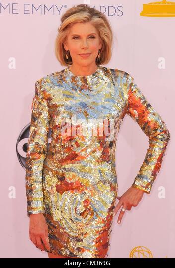Christine Baranski arrivals64th Primetime Emmy Awards - Ankünfte Nokia Theatre L.A. LIVE Los Angeles CA 23. Stockbild