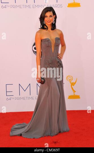 Morena Baccarin arrivals64th Primetime Emmy Awards - Ankünfte Nokia Theatre L.A. LIVE Los Angeles CA 23. September Stockbild