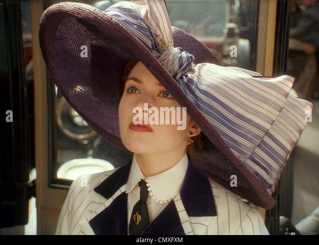 TITANIC 1997 Paramount/TCF Film mit Kate Winslet Stockbild