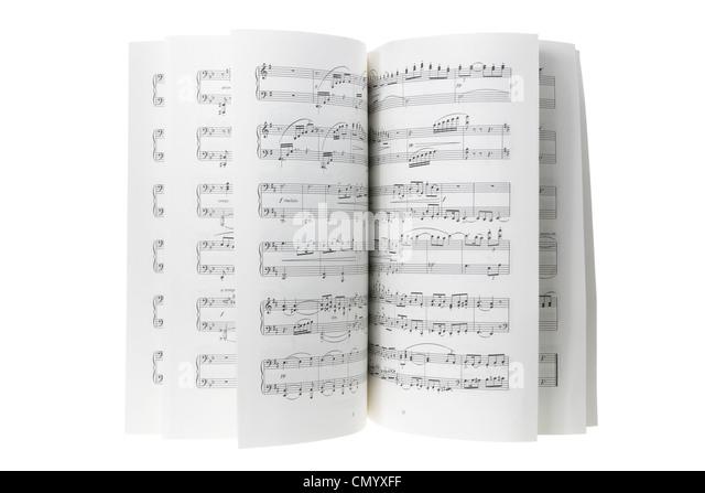 Musik-Score Stockbild