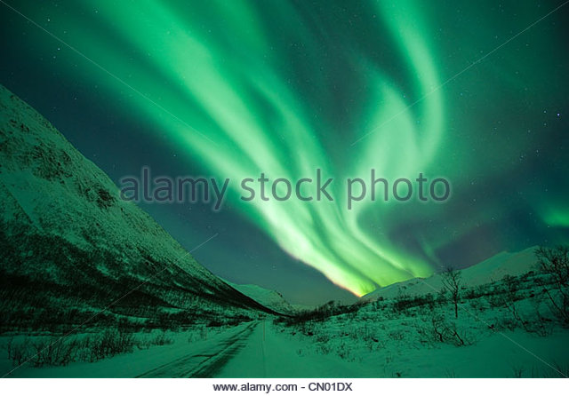 Northern Lights Stockbild