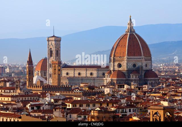 Florenz, Dom Santa Maria del Fiore Stockbild