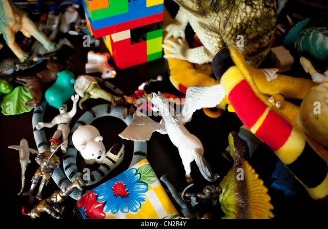 Kindheit Spielzeug, Nahaufnahme Stockbild