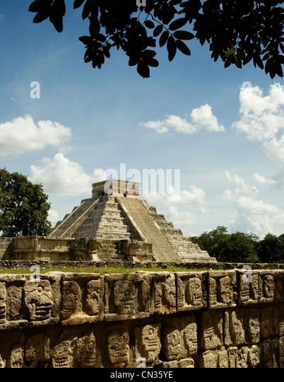 Chichen Itza, Mexiko Stockbild