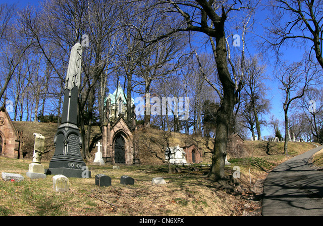 Greenwood Cemetery Brooklyn New York City Stockbild