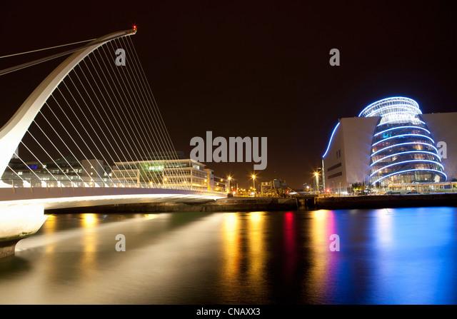 Moderne Architektur des Theaters in Dublin Stockbild