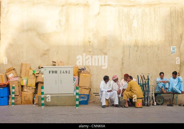 Gewürz-Souk Dubai, deira - Stock-Bilder