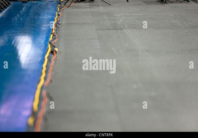 Elektrokabel im Stock Stockbild
