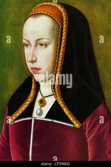 Margaret, 10.1.1480 - 1.12.1530, Erzherzogin von Österreich, Statthalter der spanischen Niederlande 1507-1515 Stockbild