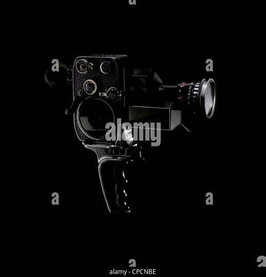16mm Film-Kamera Stockbild