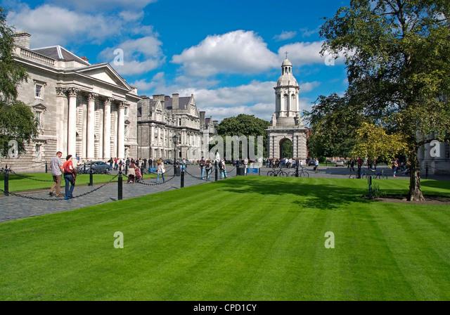 Universität Trinity College, Dublin, Republik Irland, Europa - Stock-Bilder