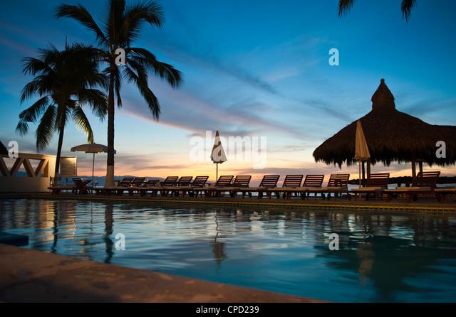 Villa Premiere Hotel und Spa, Puerto Vallarta, Jalisco, Mexiko, Nordamerika Stockbild