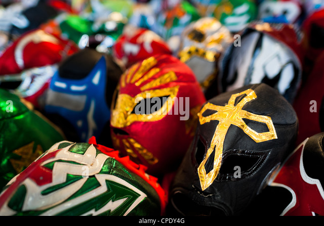 luchador wrestling mask stockfotos luchador wrestling. Black Bedroom Furniture Sets. Home Design Ideas