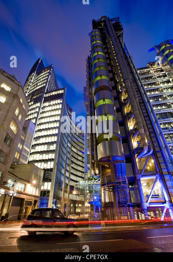 Lloyds Building, City of London, London, England, Vereinigtes Königreich, Europa Stockbild