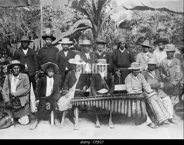 Indische Musikband, 1911 Stockbild