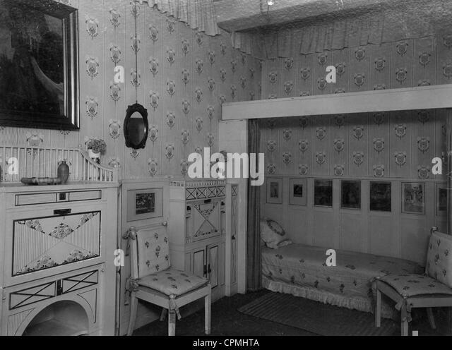 Historische Kinderzimmer Stockbild