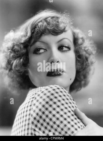 "Joan Crawford in ""Regen"", 1932 Stockbild"