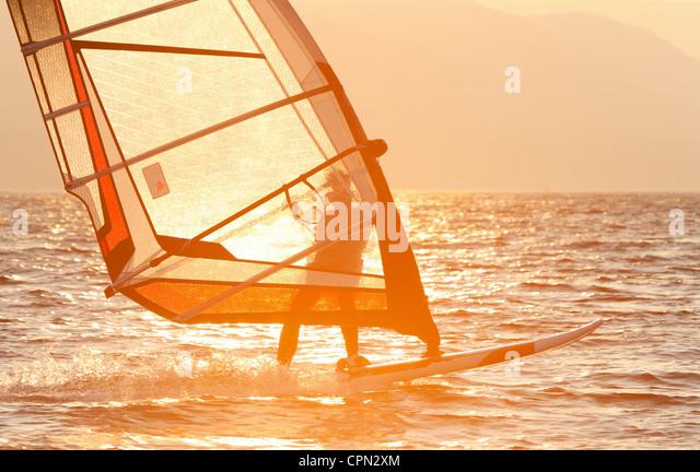 Windsurf Stockbild