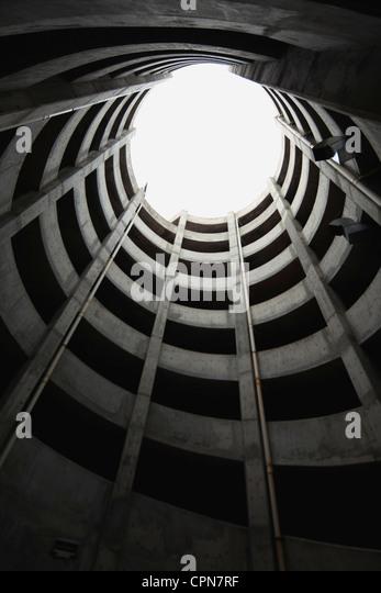 Atrium, niedrigen Winkel Ansicht Stockbild