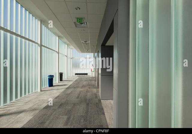 Moderne lobby Stockbild