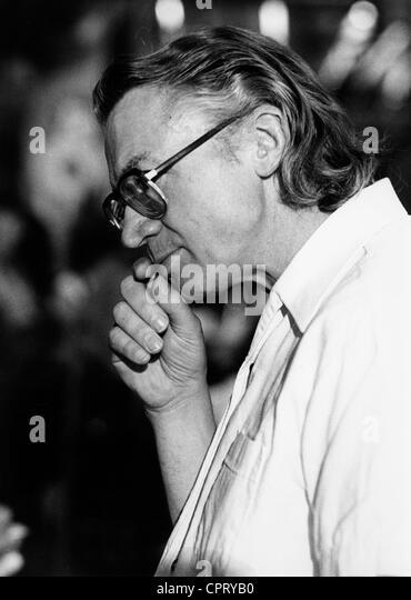 Bahro, Rudolf, 18.11.1935 - 5.12.1997, deutscher Philosoph und Politiker (die grünen), Porträt, während Stockbild