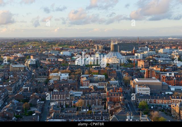 Römisch-katholische Kathedrale von Liverpool Stockbild