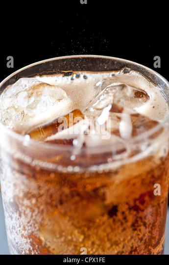 Cola-Getränk Stockbild