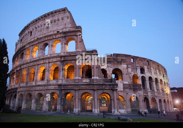 Kolosseum in Rom Stockbild