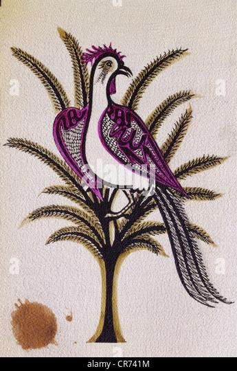 "Jami, Nur Ad-Din Abd Ar-Rahman, 18.8.1414 - 19.11.1492, persischer Autor / Schriftsteller, Werke, ""Haft Awrang', Stockbild"