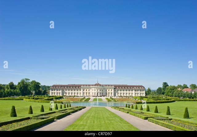 Barock in Bloom, Schloss Ludwigsburg, Ludwigsburg, Neckar, Baden-Württemberg, Deutschland, Europa Stockbild