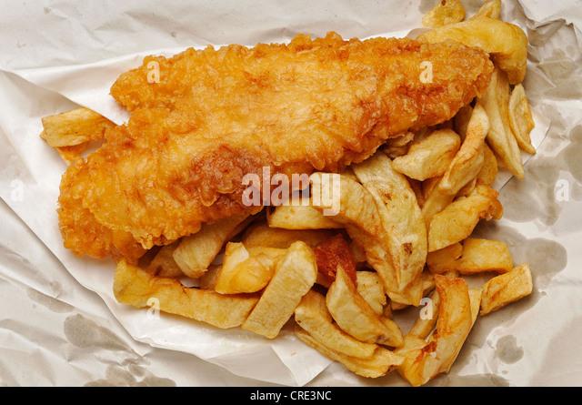 Fish & Chips Stockbild