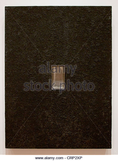 Donald Judd American Relief 1961 Vereinigte Staaten von Amerika Stockbild