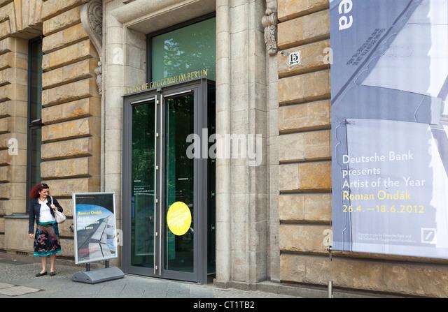 Deutsche Guggenheim, Unter Den Linden, Berlin, Deutschland Stockbild